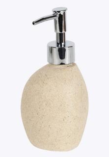 Dispensador Jabon Liquido Dispenser Baño Piedra Decoracion Ideal Para Regalo Envio Gratis