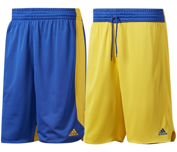 Short Basquetbol Reversible Hombre adidas Full Cd8686