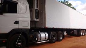 Scania Scania 124, Carreta Camara Fria