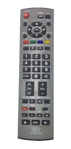 Controle Tv Panasonic Viera Plasma Th-42pv70lb C01175
