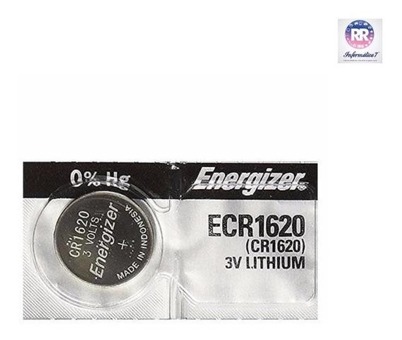 Bateria Lithium 3v Ecr1620 Energizer (3 Unidades)