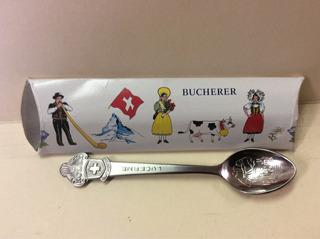 Cucharita De Colección Bucharerde Switzerland,