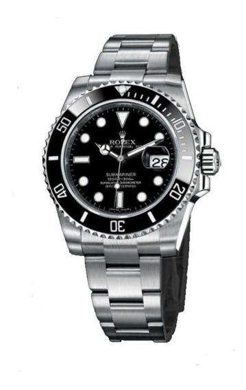 Promoção Relógio Masculino Rolex Submarine Preto