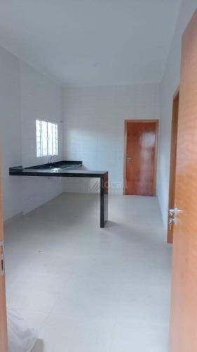 Casa Com 2 Dormitórios À Venda, 57 M² Por R$ 215.000 - Parque Dos Ipês I - Mirassol/sp - Ca2658