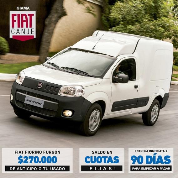 Fiat Fiorino Anticipo 270 O Tu Usado Y Cuotas Fijas