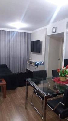 Apartamento Residencial À Venda, Jardim Casablanca, São Paulo. - Ap0047