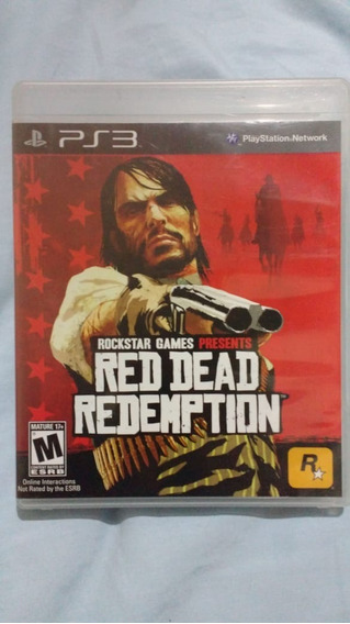 Red Dead Redemption(leia) - Mídia Física - Ps3