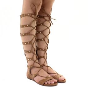 87f1a44188 Rasteirinha Gladiadora Via Marte - Sapatos no Mercado Livre Brasil