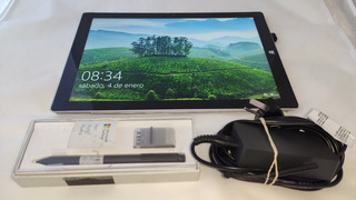 Microsoft Surface Pro 3 I7 8gb Ram 256 Ssd Impecable!