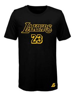 Remera Basket Nba Los Angeles Lakers (003) #23 Lebron James