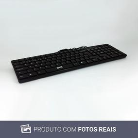 Teclado Pisc Usb Flat Abnt2 Usado