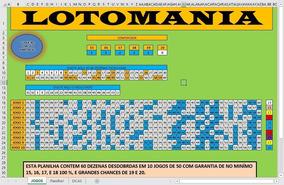 Lotmania Com 60 Dezenas Garantia De 18 Pontos 100%