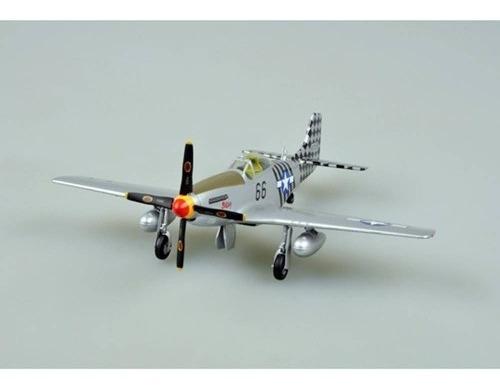 Imagem 1 de 6 de Miniatura Avião P-51d Mustang 1945 1:48 Easy Model 39505
