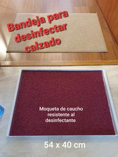 Bandeja Desinfectante Para Calzado ( Entregas Al Por Mayor )