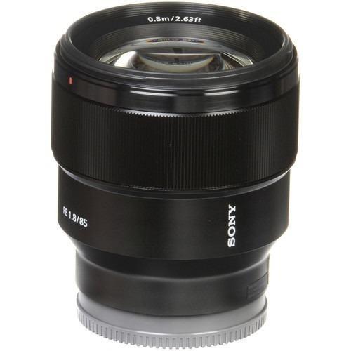 Lente Sony Sel 85mm 1.8