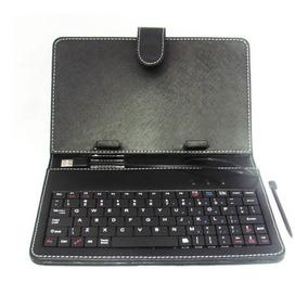 Capa Teclado Para Tablet 7 Polegadas - Várias Cores