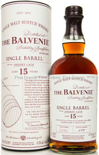 Whisky The Balvenie 15 Años Single Barrel Sherry Cask 47,8%