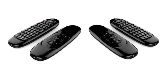 Teclado Air Mouse Sem Fio Usb 2,4ghz Android Pc Tv Smart