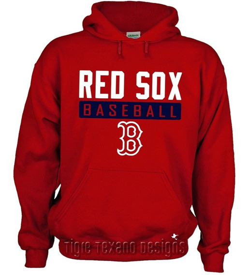 Sudadera Red Sox De Boston Mod. L By Tigre Texano Designs