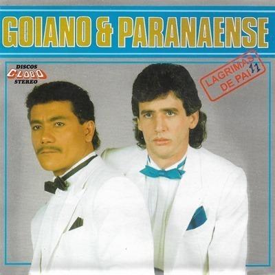 Cd Goiano E Paranaense Lágrimas De Pai 1988/2000