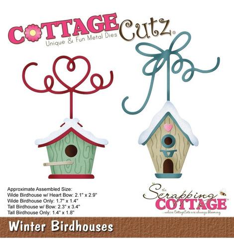 Imagem 1 de 1 de Cottagecutz Dies Winter Birdhouses