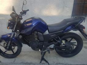 Yamaha Fz16 2014 Azul 150 Cc