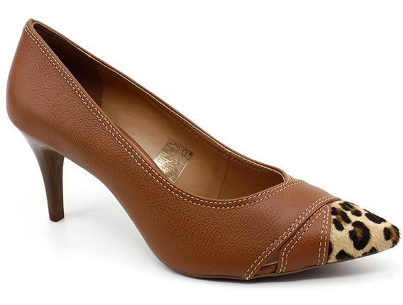 Sapato Scarpin Loucos E Santos 41158047 Marrom Caramelo
