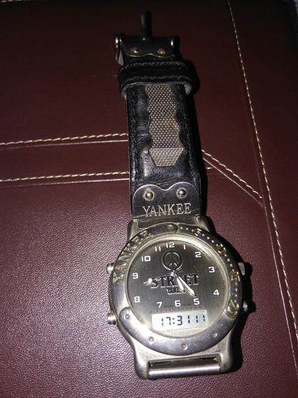 Relógio Yankee Street Anos 90 Antigo Vintage