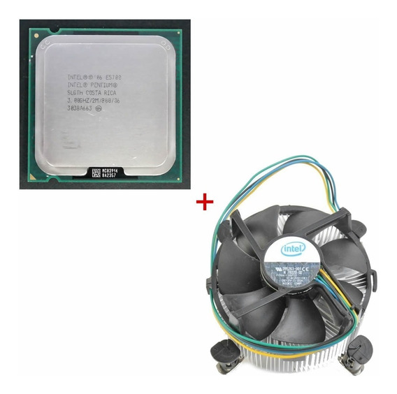 Processador Pentium Dual Core E5700 Com Cooler