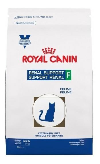 Royal Canin Renal Support F Felino 3kg 100% Original Pro Mas