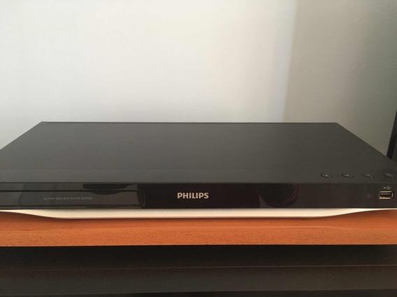Blu-ray 3d Philips Com Controle + Dvd Samgung (sem Controle)