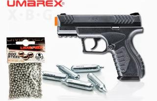 Glock 17 Airsoft Marcadora .177 Co2 Semi Umarex Nuevo Modelo