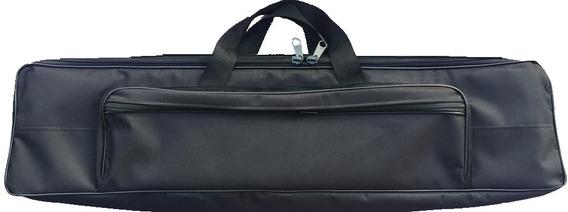 Bag Capa Case Teclado Keystation61 Da M Aud Com Alça Mochila