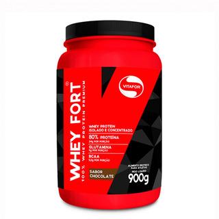 Whey Fort - 900 Gramas - Vitafor Chocolate