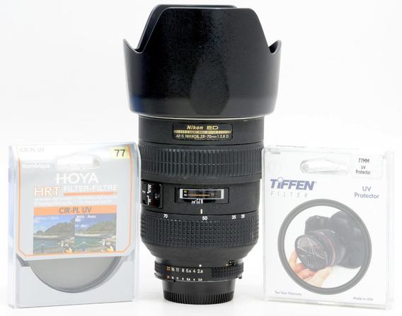 Objetiva Nikon 28-70mm 2.8 Af-s + 2 Filtros