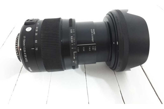Lente 17/70 Mm Sigma Para Nikon 2.8