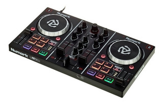 Controlador Dj Numark Party Mix Controlador Con Luces De Dj