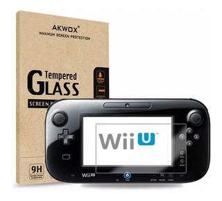 Accesorio Vidrio Templado Nintendo Wii U De Alta Definición