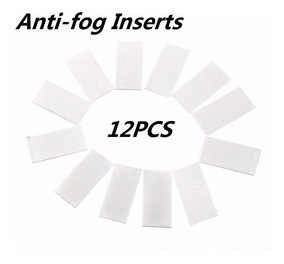 Kit Com 12 Pastilhas Anti Embaçante Fog Gopro 7 6 5 4 3 3+ 2