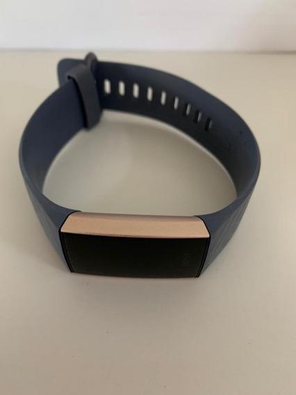 Fitbit Charge Rose Gold 3 Com 3 Pulseiras E Acessórios