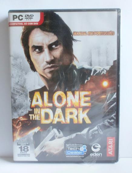 Alone In The Dark Jogo Pc Novo Lacrado Midia Fisica