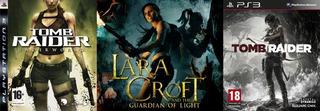 Pack Lara Croft - Tomb Raider ~ Ps3 Digital Español