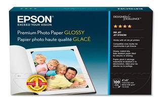 Papel Fotografico Premium Epson 252 Grs 4x6 X 200 Hoj Glossy