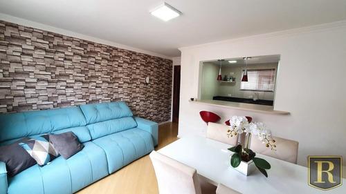 Apartamento Para Venda Em Guarapuava, Santa Cruz, 3 Dormitórios, 1 Banheiro, 1 Vaga - _2-1038383