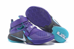 Nike Zoom Lebron Soldier 9 Court Purple Lebron James