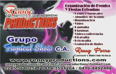 Grupo Musical Renny Productions Grupo Tropical Show, C.a.