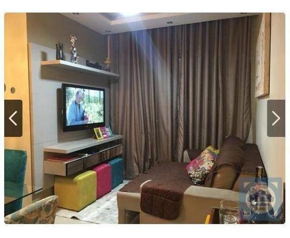 Apartamento Com 2 Dormitórios À Venda, 53 M² Por R$ 249.000,00 - Areia Branca - Santos/sp - Ap3570