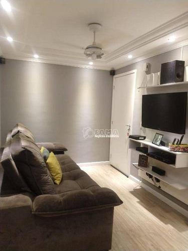 Imagem 1 de 14 de Apartamento À Venda, 46 M² Por R$ 244.000,00 - Residencial Pitágoras - Paulínia/sp - Ap0617