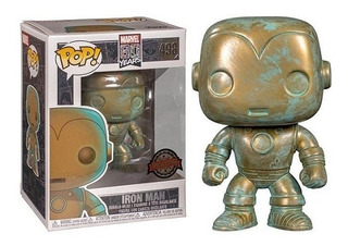 Funko Pop 498 Marvel Iron Man Edicion Especial Playking