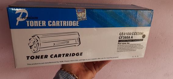 Toner Compatível Marca Premium Para Uso Em Ce410a/cc53 Preto